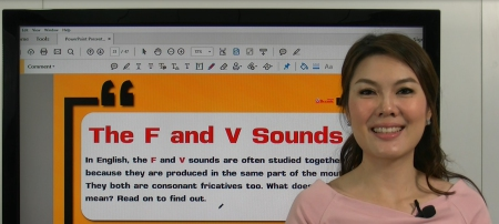 Pronunciation - The F and V sounds